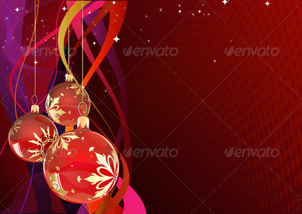 GraphicRiver Christmas Decorations 4002383