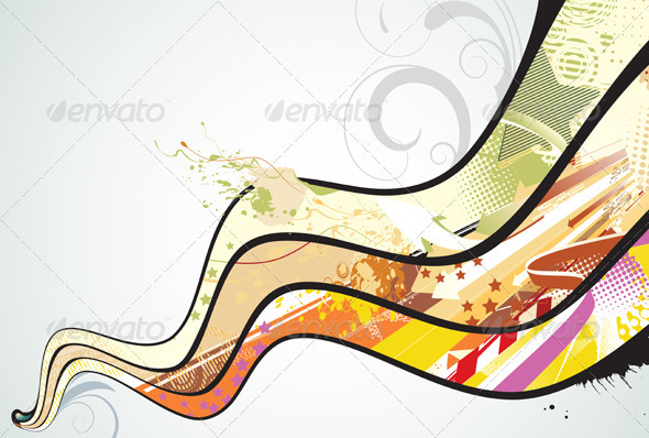 GraphicRiver Abstract Background 4002410
