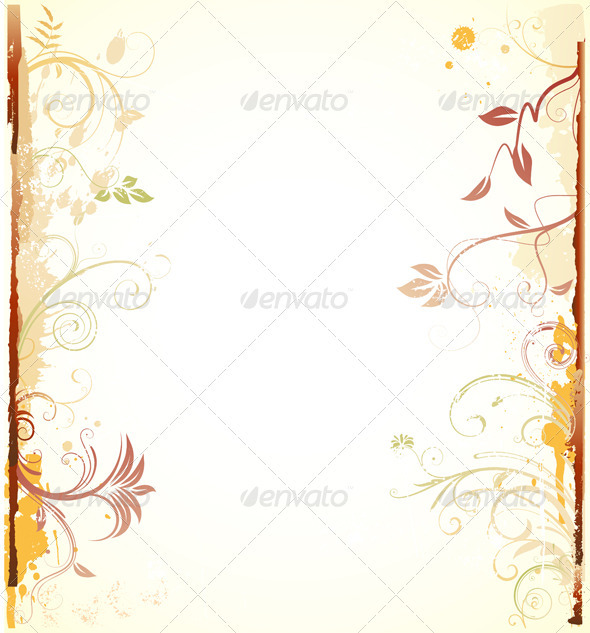 GraphicRiver Floral Background 4002589