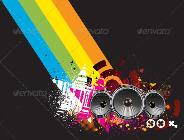 GraphicRiver Abstract Party Background 4002662