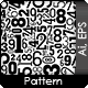 Seamless Numbers Pattern - GraphicRiver Item for Sale