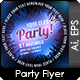Party Card - GraphicRiver Item for Sale