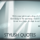 Stylish Quotes - VideoHive Item for Sale