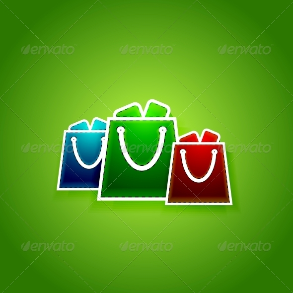 GraphicRiver Go shopping concept Vector EPS10 illustration 4004913