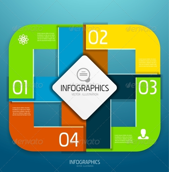 GraphicRiver Infographic banner design elements numbered lists 4005943