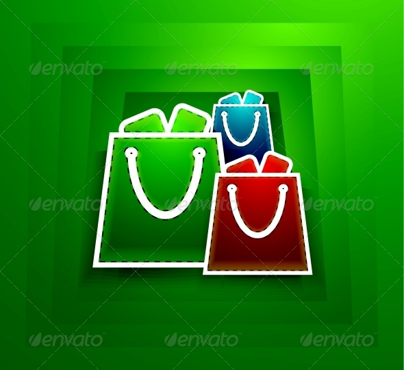 Go shopping concept. Vector EPS10 illustration - Web Elements Vectors