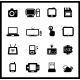 Vector Set of Electronic and Mobile Devices - GraphicRiver Item for Sale