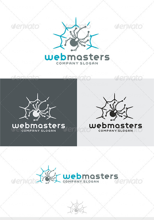 Web Masters Logo - Animals Logo Templates