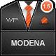 Modena Responsive Portfolio WordPress Theme - ThemeForest Item for Sale