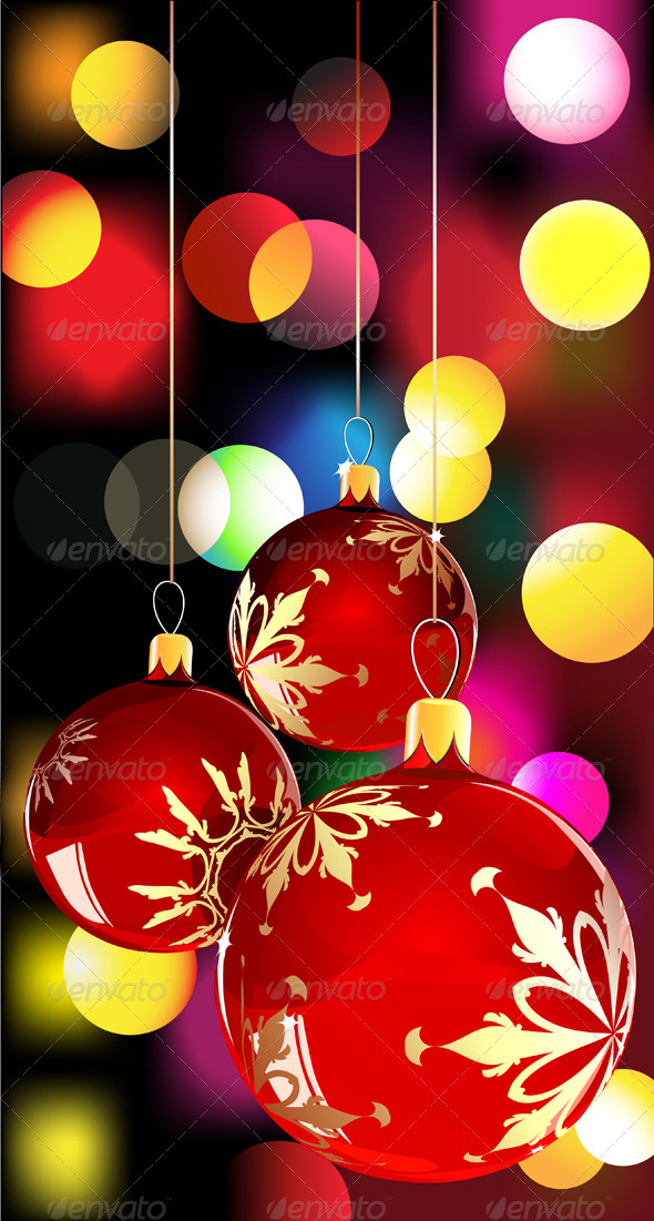 GraphicRiver Christmas Decorations 4007686