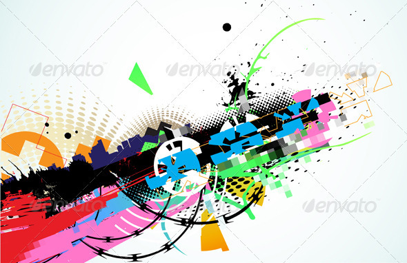 GraphicRiver Abstract Background 4007712