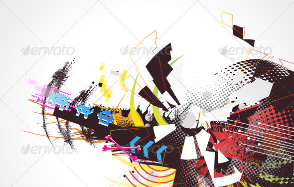GraphicRiver Abstract Background 4007727