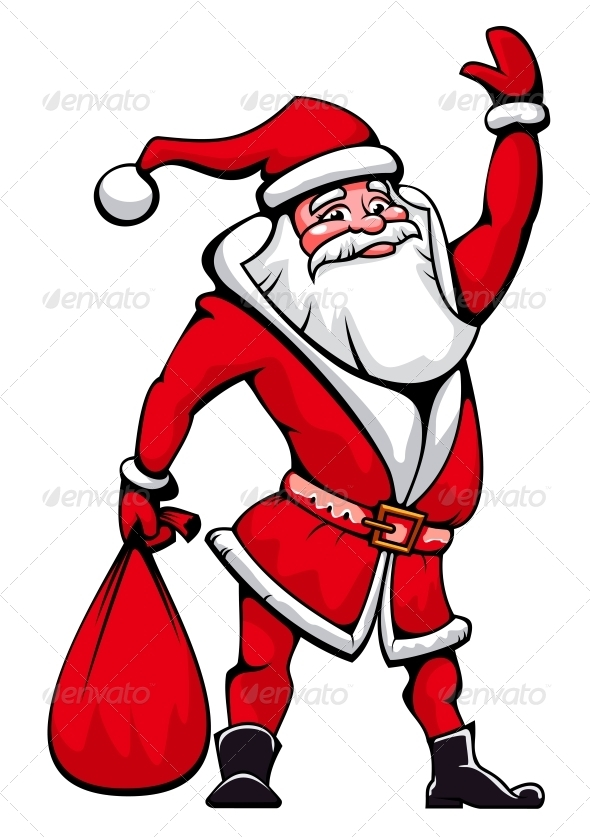 GraphicRiver Santa Claus 4007945