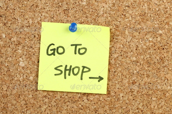Go to Shop - Stock Photo - Images