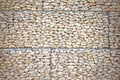 Stone wall with wire mesh for  background - PhotoDune Item for Sale