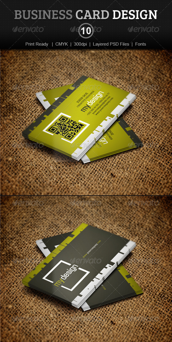 GraphicRiver Business Card Design 10 4009261