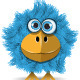 Funny Blue Bird - GraphicRiver Item for Sale