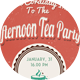 Retro Tea Party Flyer/Invitation - GraphicRiver Item for Sale