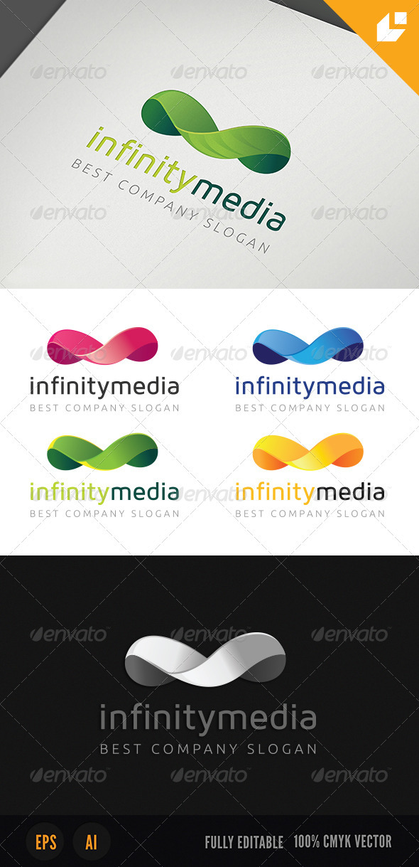 GraphicRiver Infinity Media Logo 4012938