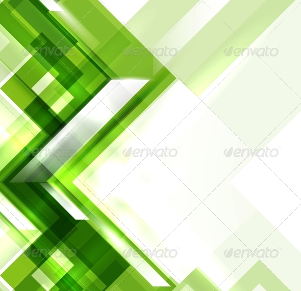 GraphicRiver Green Modern Geometric Abstract Background 4015281