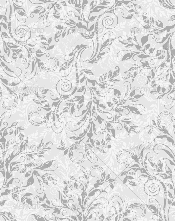 GraphicRiver Elegant Decorative Floral Seamless Pattern 4016150