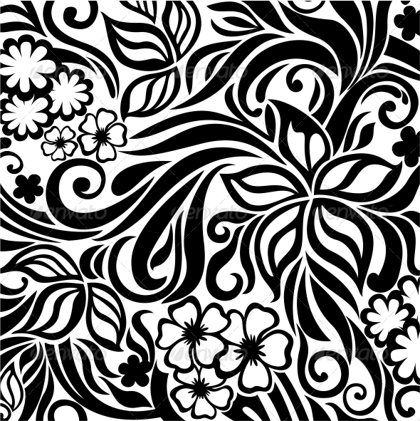 GraphicRiver Floral Background 4016153