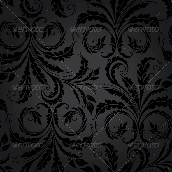 GraphicRiver Floral Seamless Background 4016154