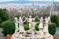 Sardana dance statue in Barcelona - PhotoDune Item for Sale