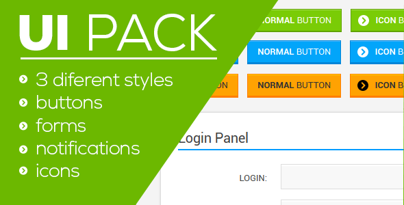 CodeCanyon UI Pack 4020013