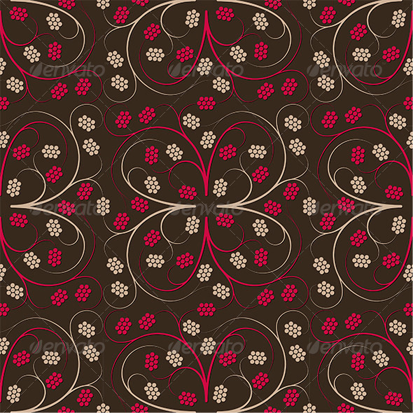 GraphicRiver Floral Seamless Pattern 4020073