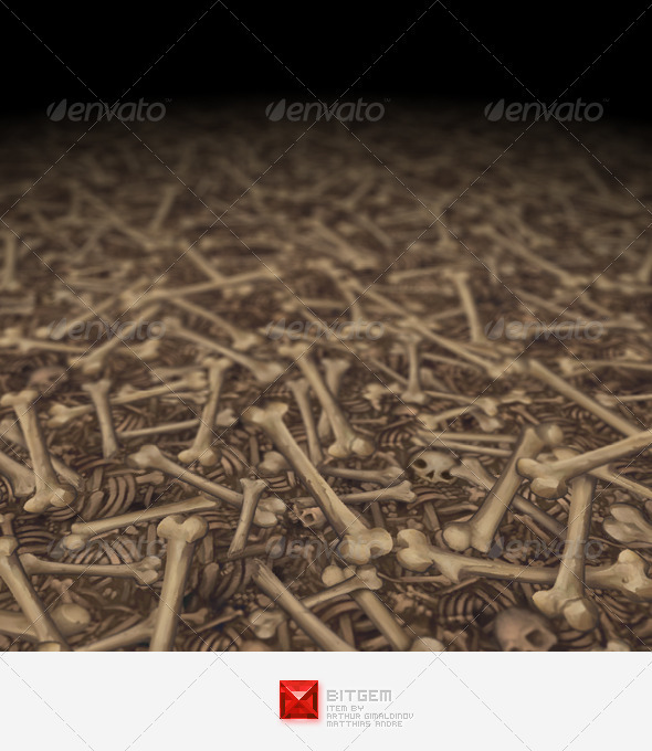 3DOcean Bone Texture Tile 02 4020095