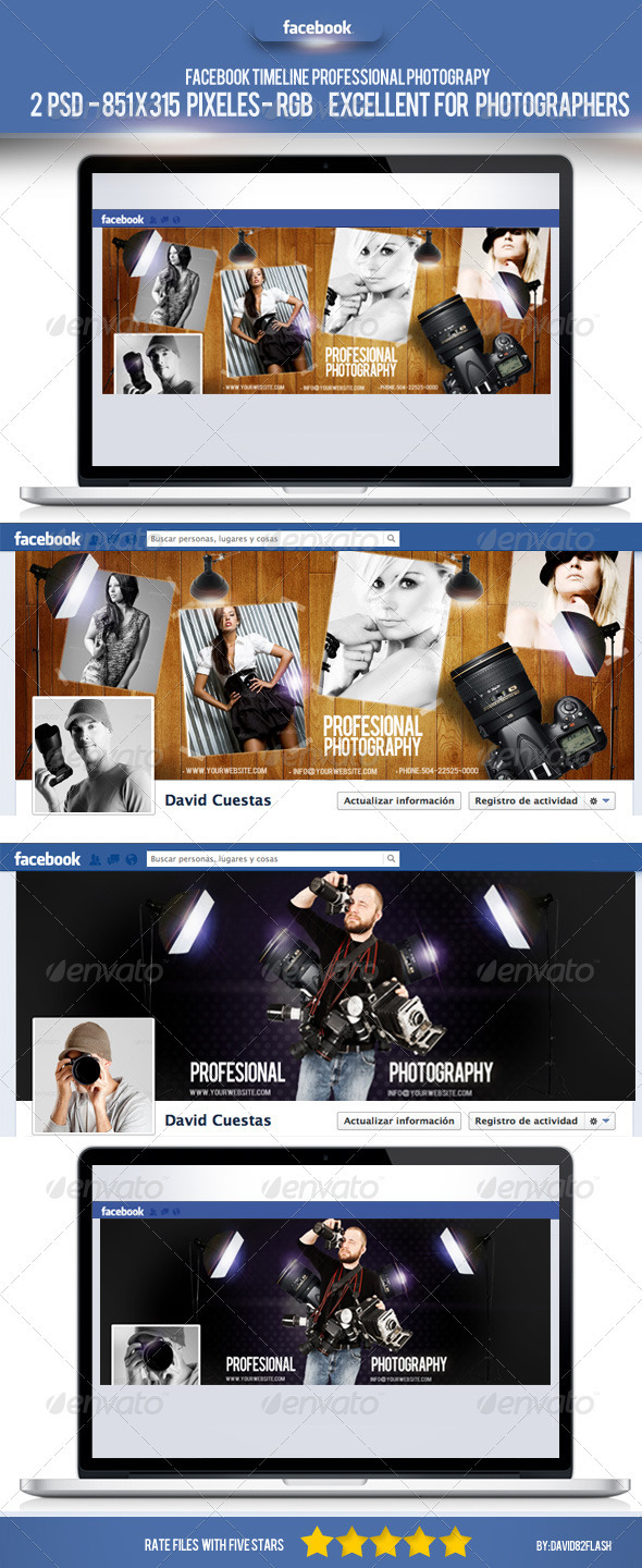 GraphicRiver Fb Timeline Professional Photography 3911215