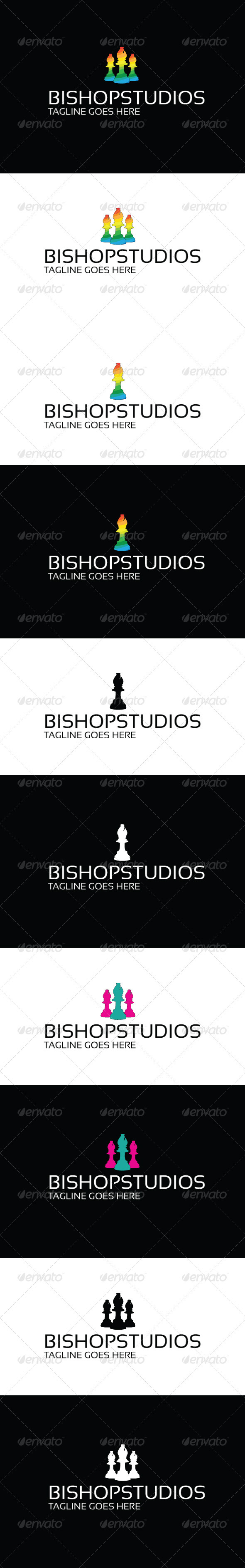 Bishop Studios Logo - Objects Logo Templates
