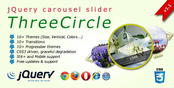 Three Circles - CodeCanyon Item for Sale