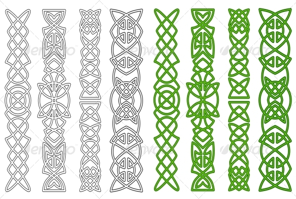 GraphicRiver Celtic ornaments and elements 4023137