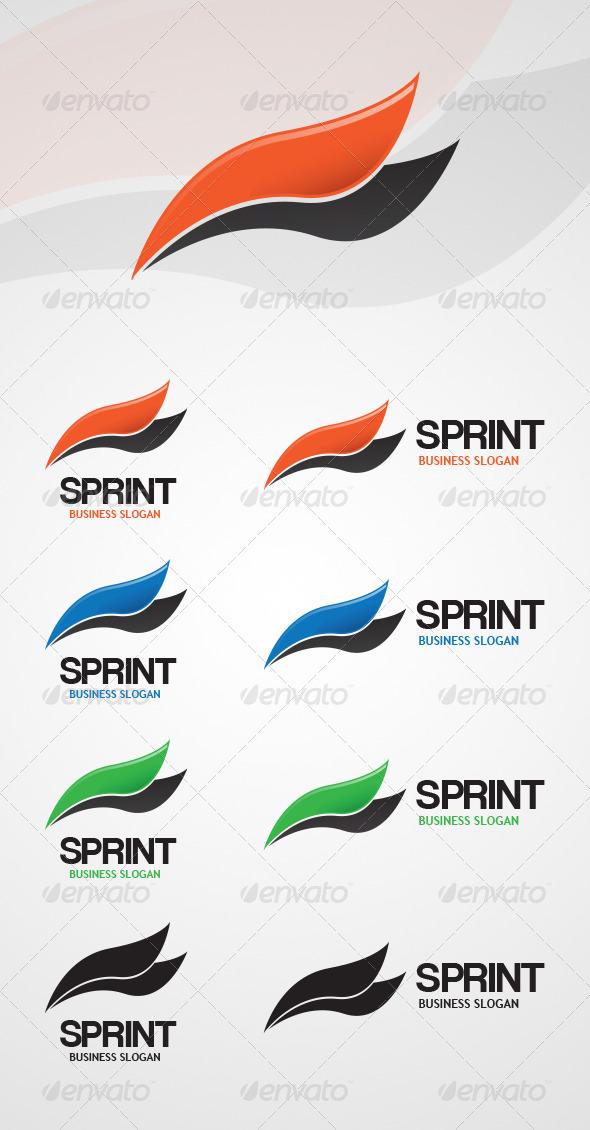 GraphicRiver Sprint Logo Template 4024052