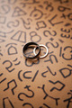 Wedding rings on pattern - PhotoDune Item for Sale