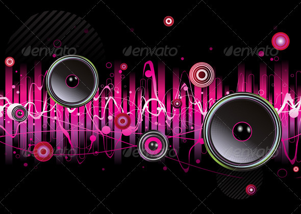 GraphicRiver abstract party background 4025077