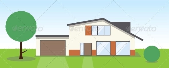 GraphicRiver Country House 4025280