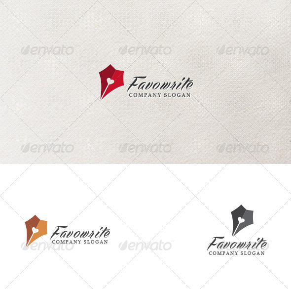 GraphicRiver Favowrite Logo Template 3884092