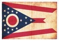 Grunge flag of Ohio (USA) - PhotoDune Item for Sale