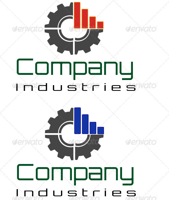 Industries Logo  - Vector Abstract