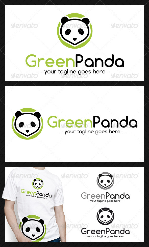 GraphicRiver Panda Logo Template 4030669