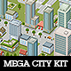 Mega Pixel City Bundle - GraphicRiver Item for Sale
