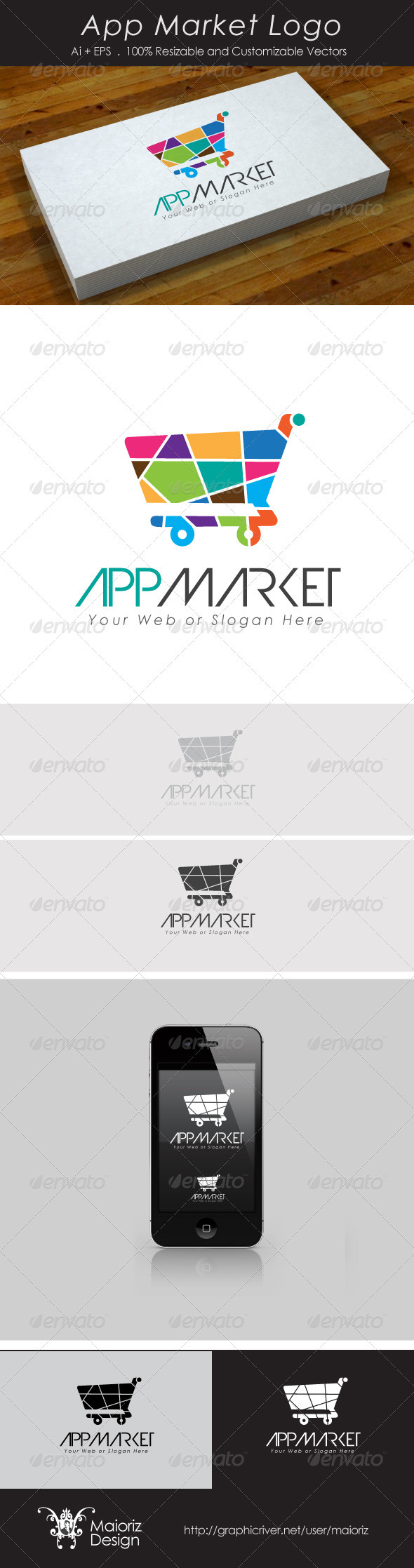 App Market Logo - Objects Logo Templates