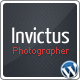 Invictus - A Premium Photographer Portfolio Theme - ThemeForest Item for Sale