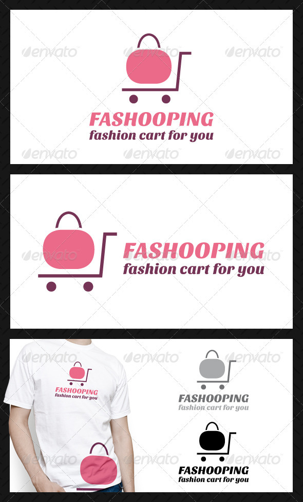 GraphicRiver Fashion Shopping Logo Template 4033456