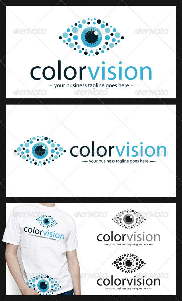 Color Vision Logo Template - Humans Logo Templates