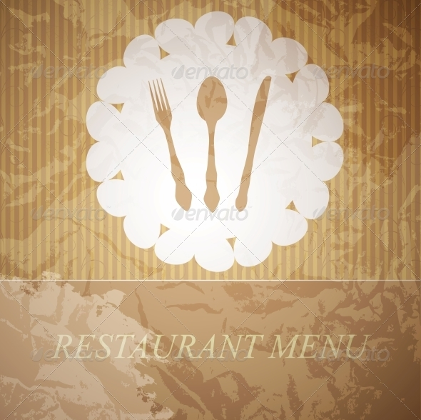 The concept of Restaurant menu. - Backgrounds Decorative