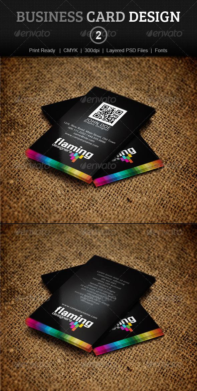 GraphicRiver Business Card Design 2 3909866
